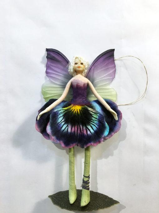 ornament fairy doll pansy