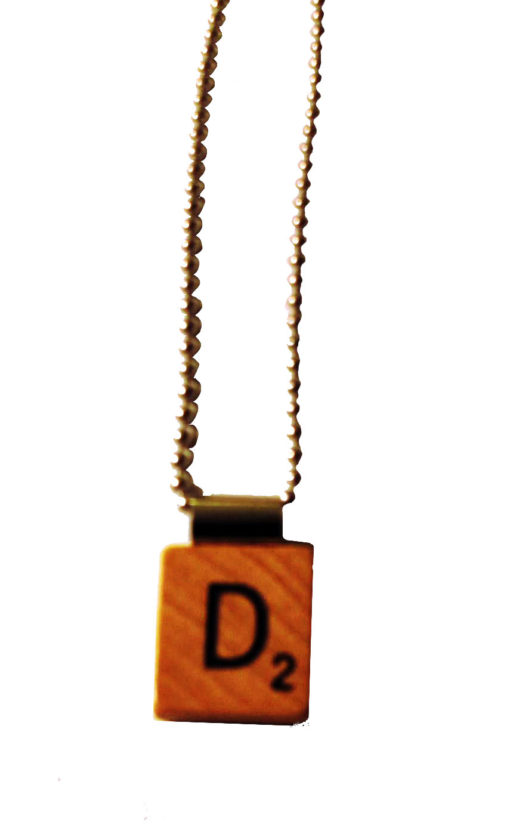 Scrabble jewelry