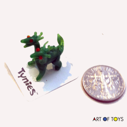 glass miniature dragon