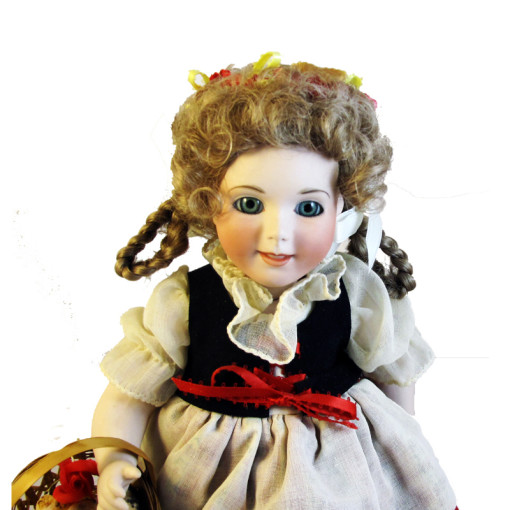 original porcelin doll art Wendy Lawton