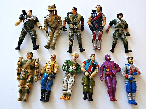 GI Joe Art of Toys : GI Joe 1980 action figures from artoftoys.com size 500 x 374 jpeg 80kB