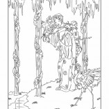 Harry Clarke Coloring Book a