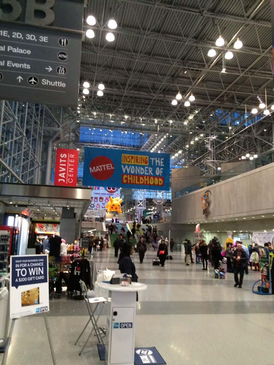 NY Toy Fair 2016 Hall