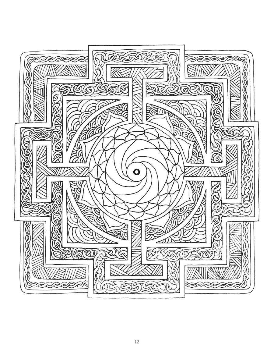 Mandala Coloring Book - Art of Toys