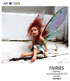 Fairies at Art Of Toys