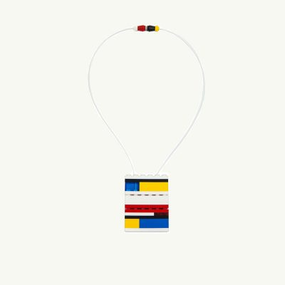 lego art necklace