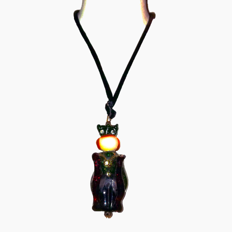 Art Toy Glass Pendant