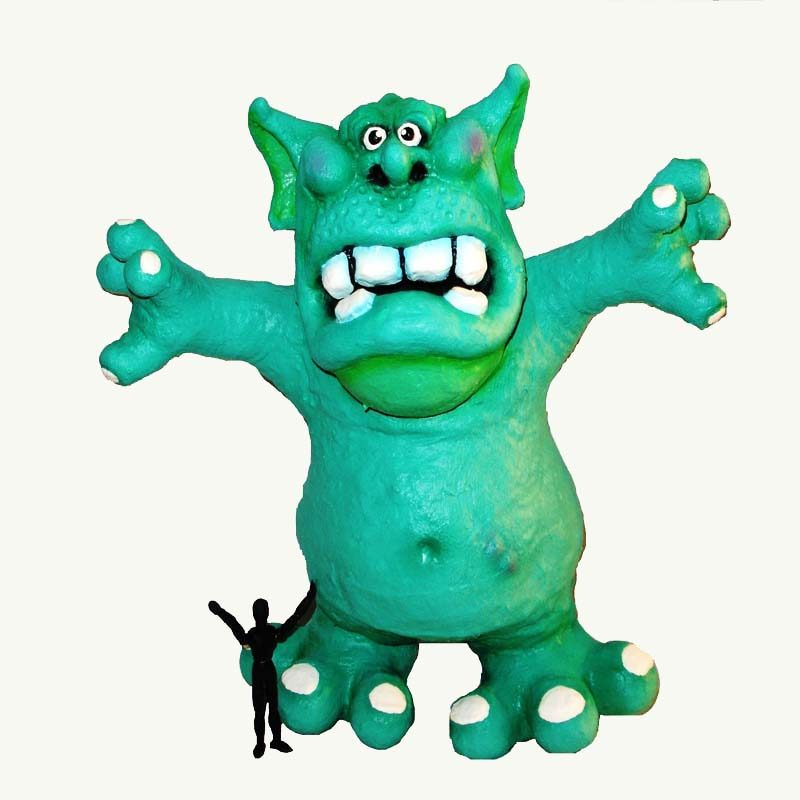Art Toy Monster Toy