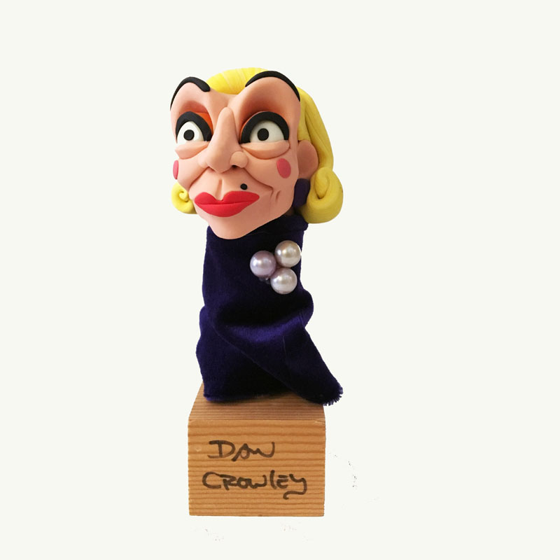 Dan Crowley Pearl Pin Blond Puppet