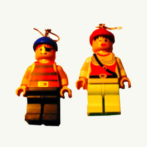 LEGO® Pirate Earrings emiko oye