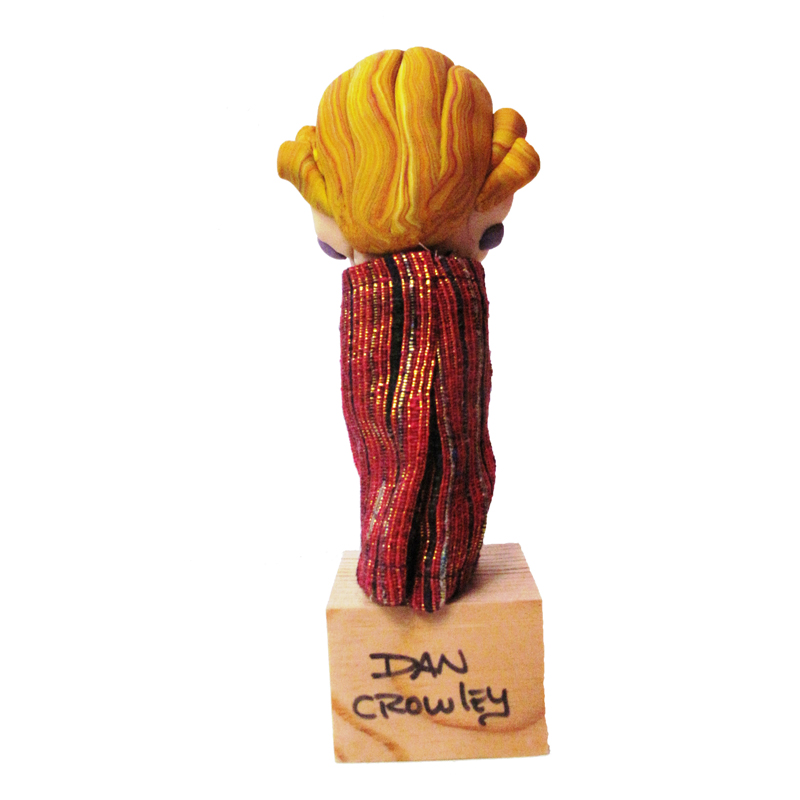 Puppet Art Dan Crowley Blond Woman 2