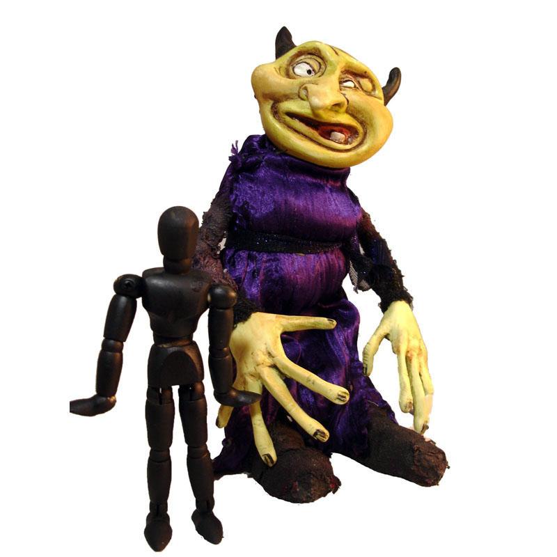 handcrafted artist doll monster