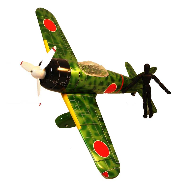 Vintage Toy Plane NR Xonex Leadworks Fighter