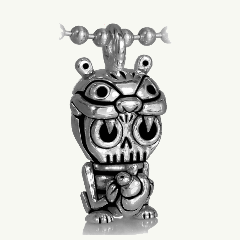 Toy Art Lab Kimil Oscar Ayotzintli-Trash