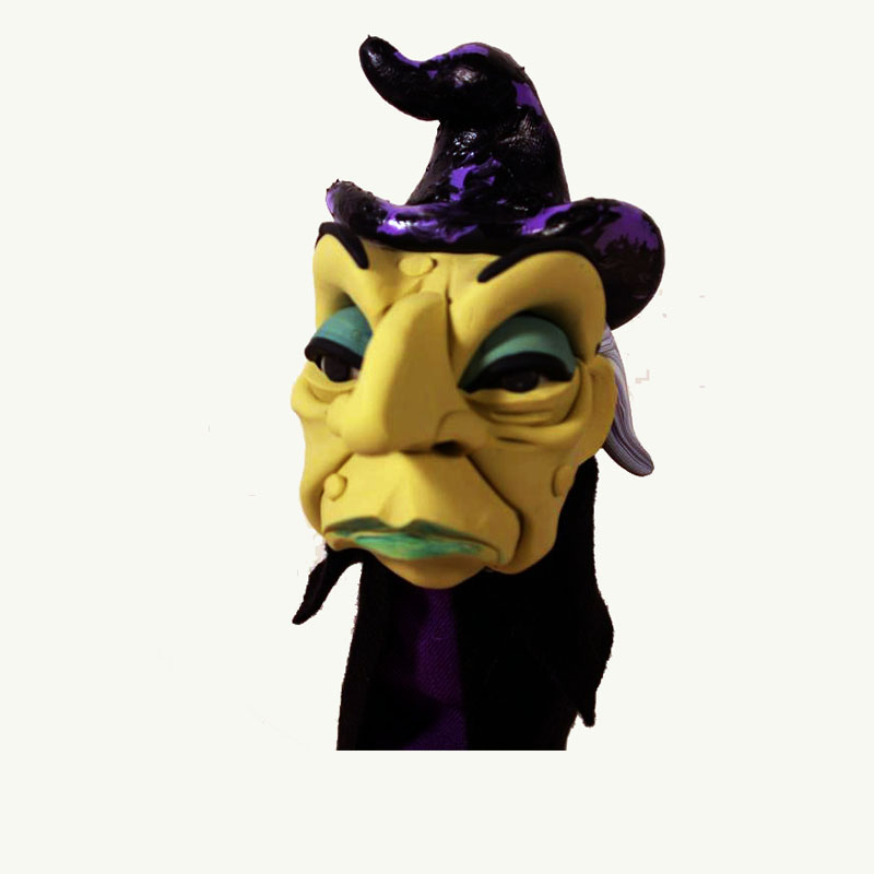 Green Witch Dan Crowley Puppet