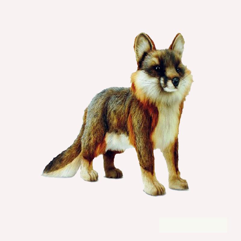 Hansa Gray Fox Art Of Toys