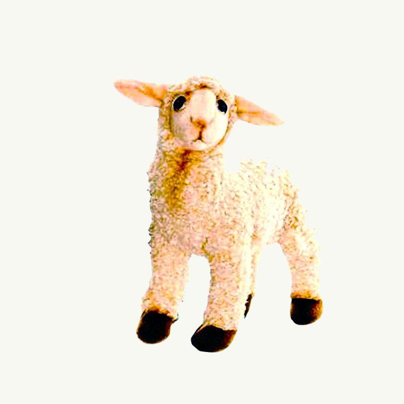 toy soft lamb