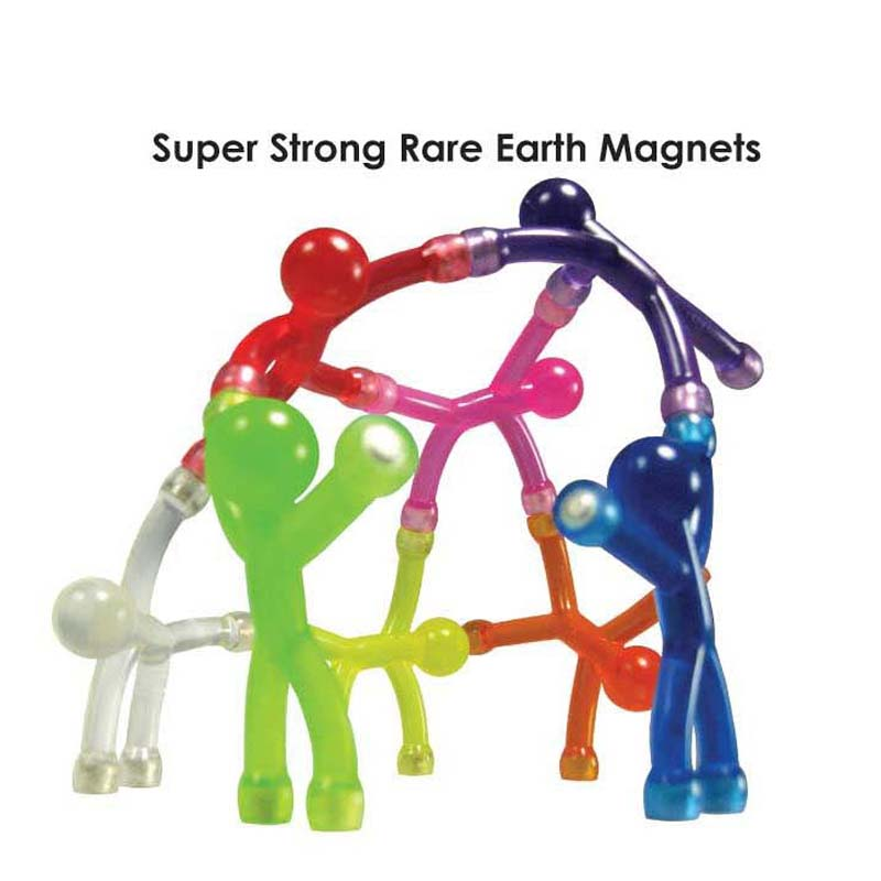 rubber and magnets toy