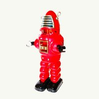 Schylling Planet Robot Tin Windup