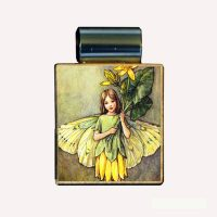 Scrabble Yellow Blossom Fairy Necklace