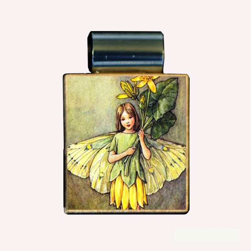 crabble Yellow Blossom Fairy Necklace