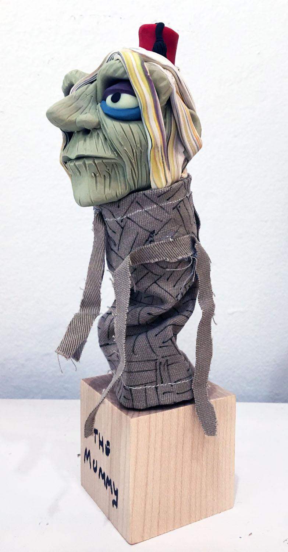 Dan Crowley Puppet Art Mummy