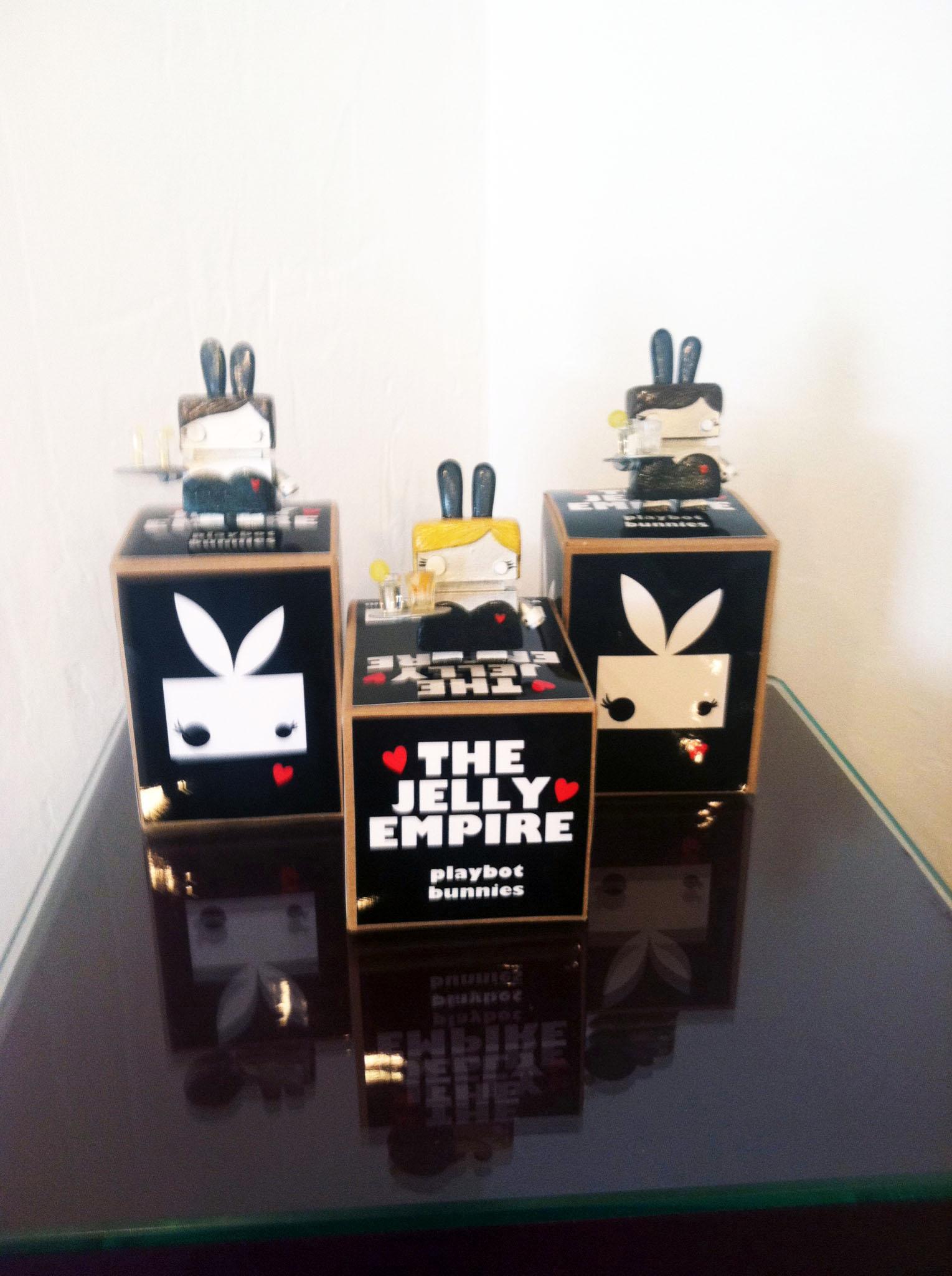 Art Toy Bunny Bot 3 Selina Briggs