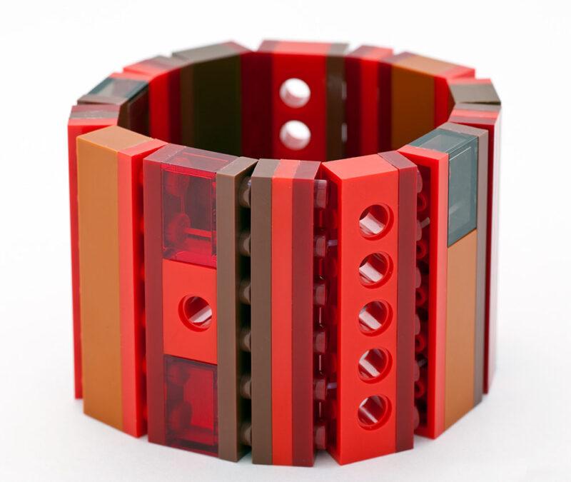 Lego Bracelet Cherry Caramel 1x6 emiko oye