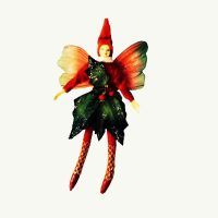 Red Holiday Fairy