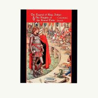 Pomegranate's King Arthur Coloring Book
