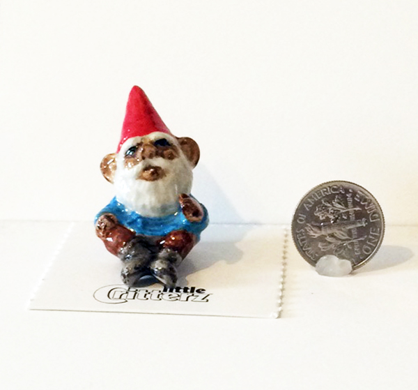 Dal Elf Little Critterz with dime
