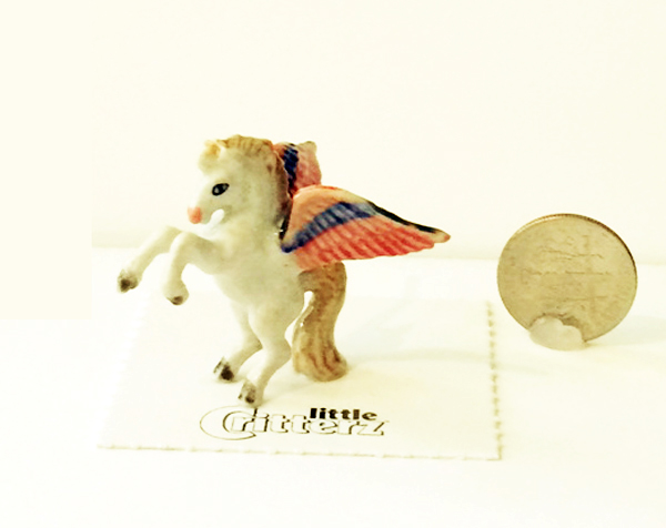 Pegasus Winged Horse Little Critterz dime