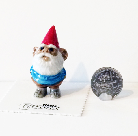 Skor Gnome Little Critterz with dime