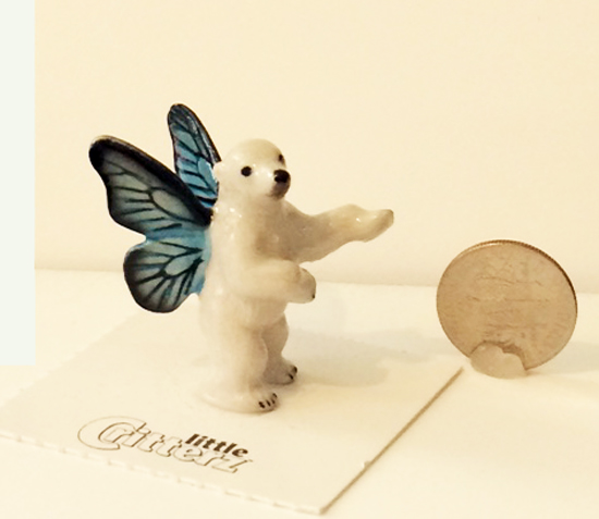 Winter Pixie Polar Bear Little Critterz