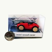 Milaniwood Mini Wood Racer Red
