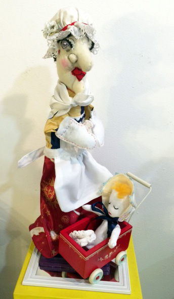 Judy Stage Puppet Art by Sis