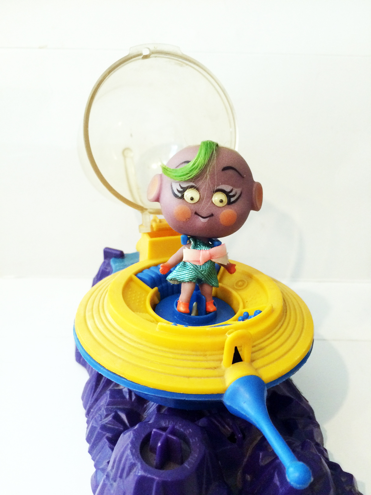 Mattel Kozmic Kiddles Purple Gurple