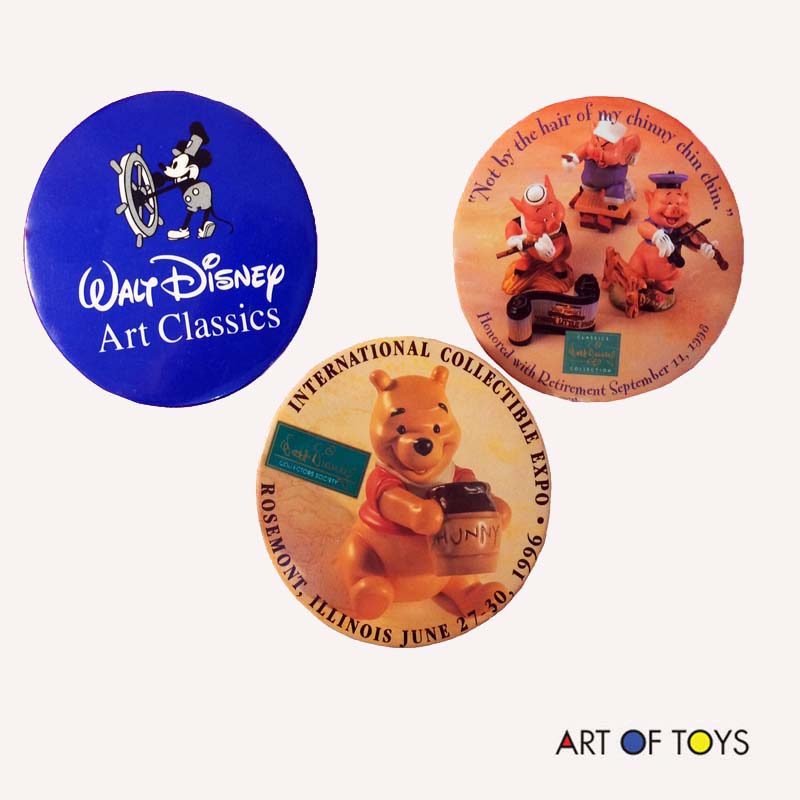 Walt Disney Classics Collection 1990s Pins
