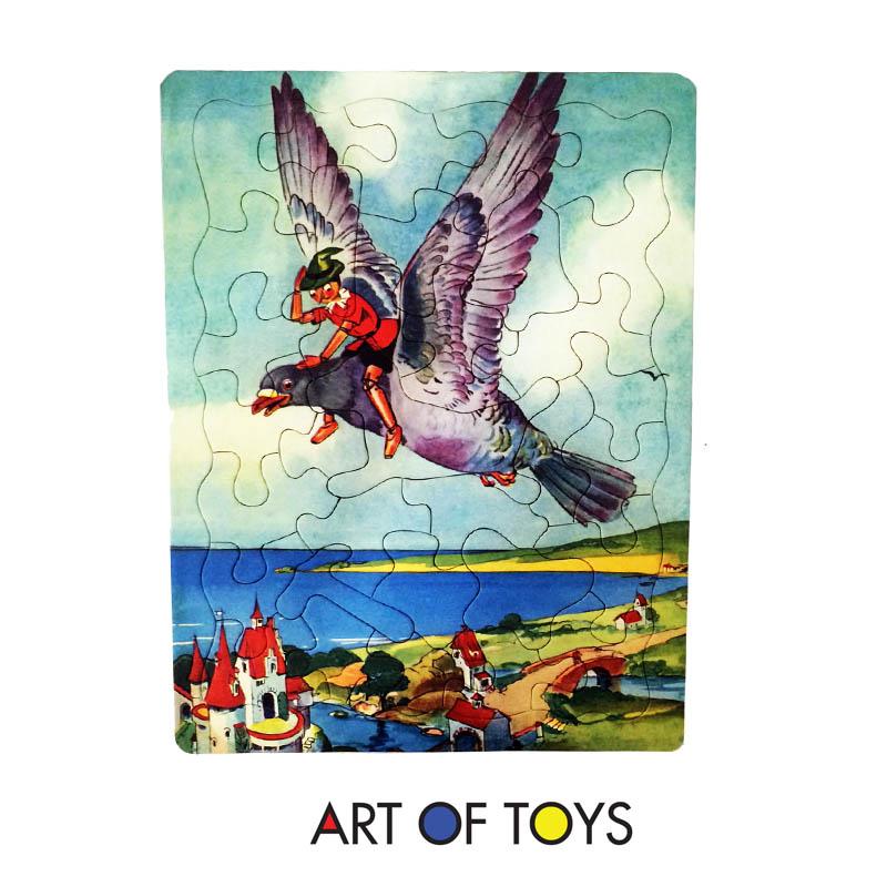 Pinocchio Puzzle Set pinocchio and bird