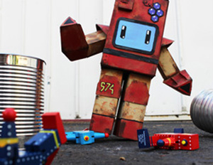ROBOTS Capture Art Of Toys!