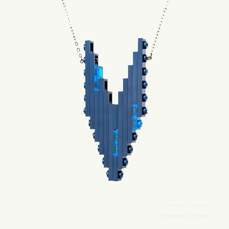 Dusk Hero LEGO® Necklace emiko