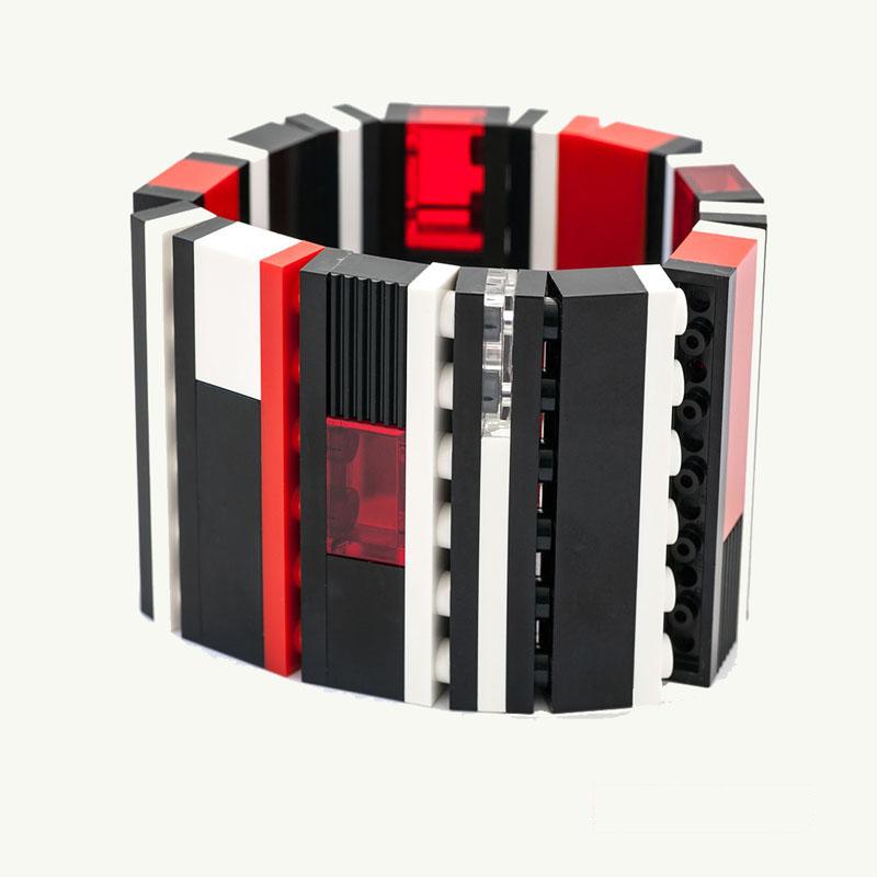 Lego Bracelet 1x6 Checkers emiko oye