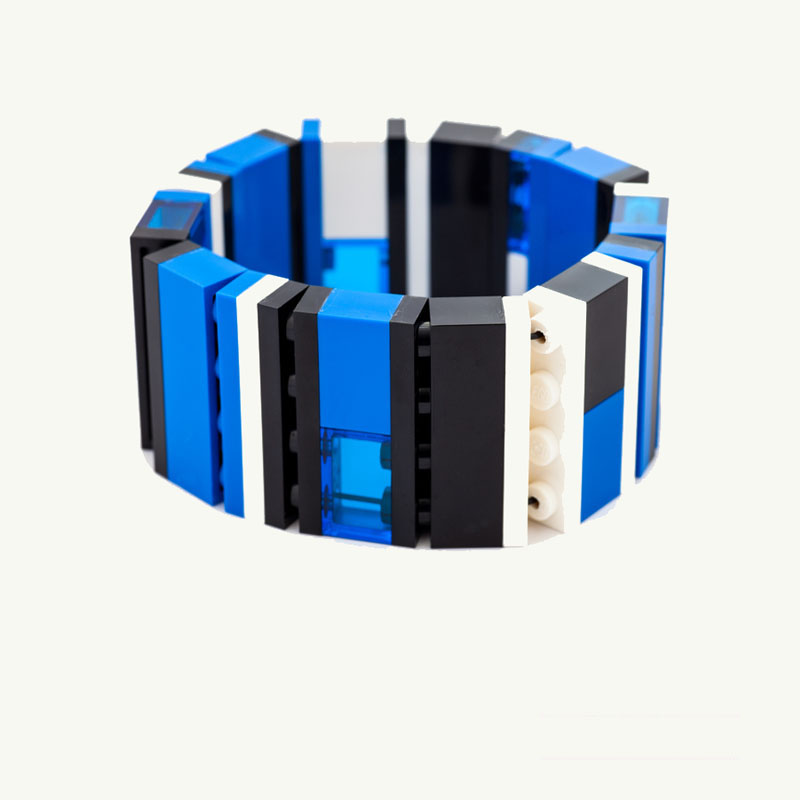 Night Blue Lego 1x4 Bracelet emiko oye