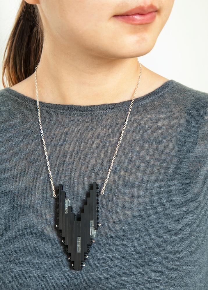 lego necklace by emiko oye