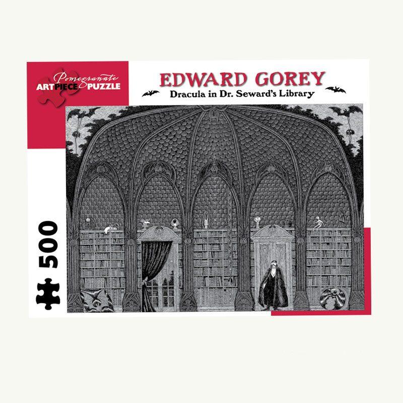 Edward Gorey Dracula 500 PC Puzzle