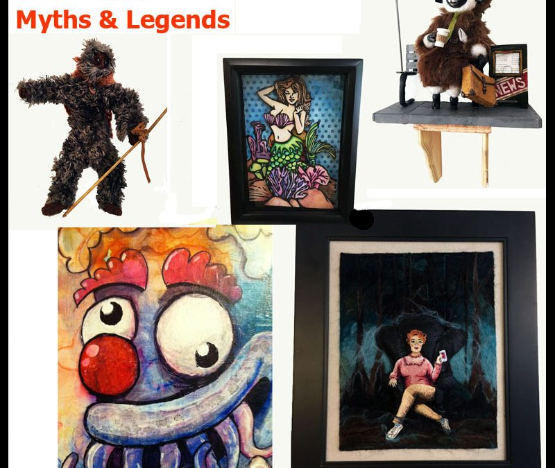 Myths & Legends in the month of June at Art Of Toys!