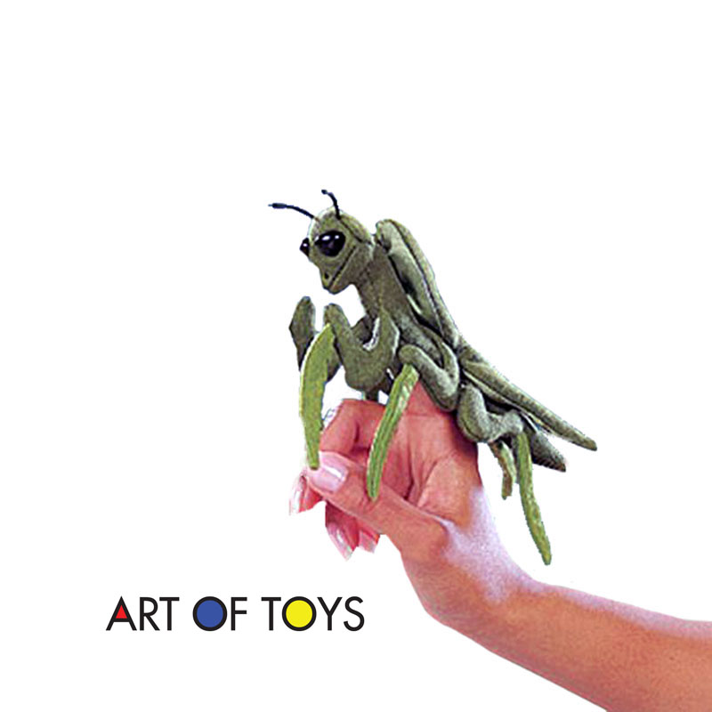 Folkmanis Praying Mantis Finger Puppet