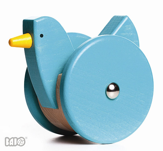 bajo blue wood bird