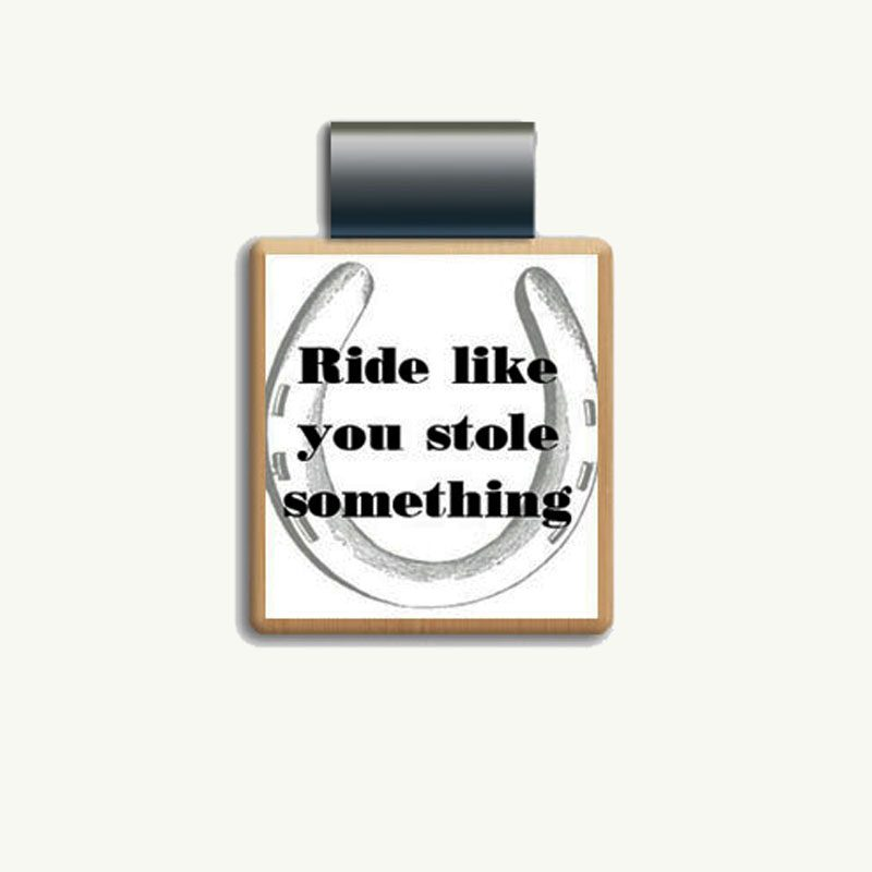 Ride Like You Stole Something Scrabble Jewelry