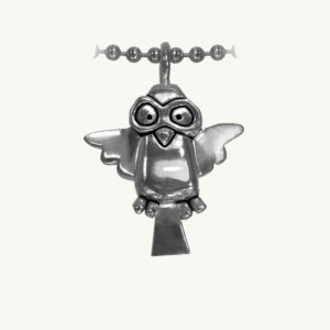 Aviator Ed Heck Icon Necklace by Oscar Ayotzintli